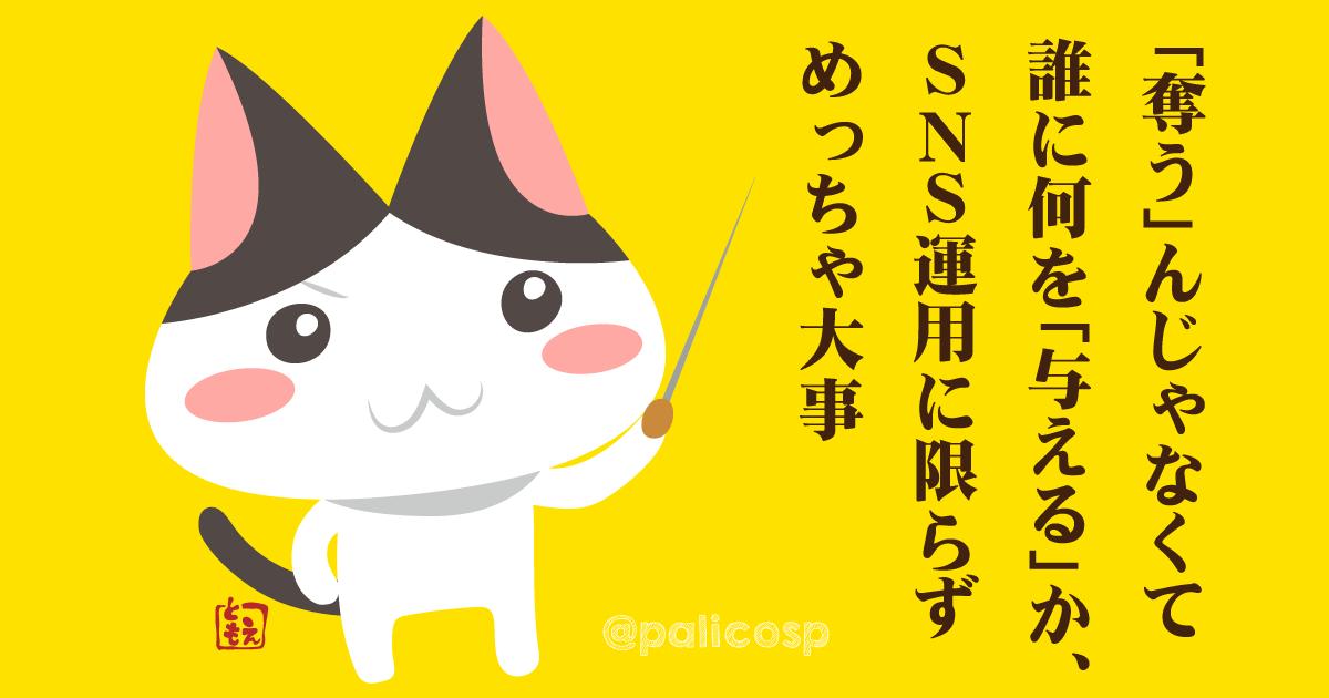 SNSやブログ運用で大事なこと|猫のイラスト