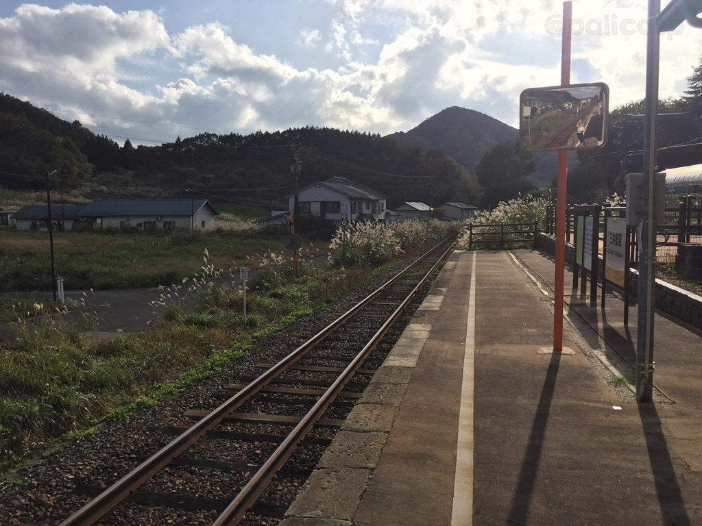 三井野原駅ホーム