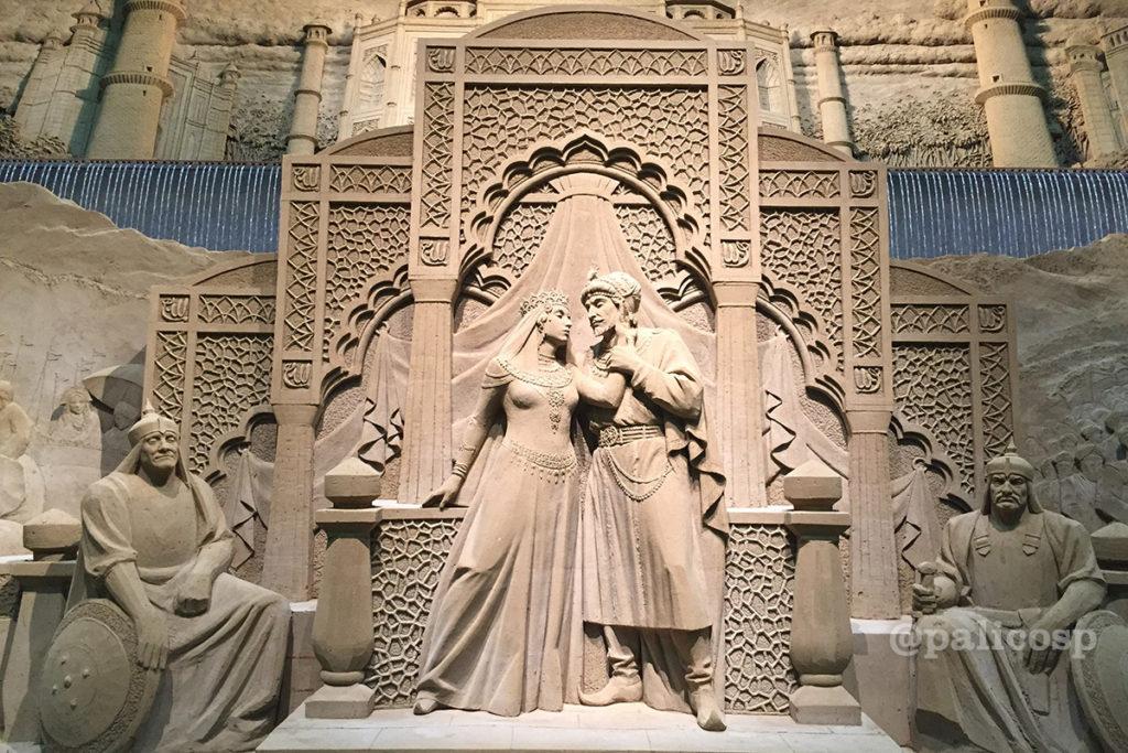 第12期南アジア編|ムガル帝国砂像