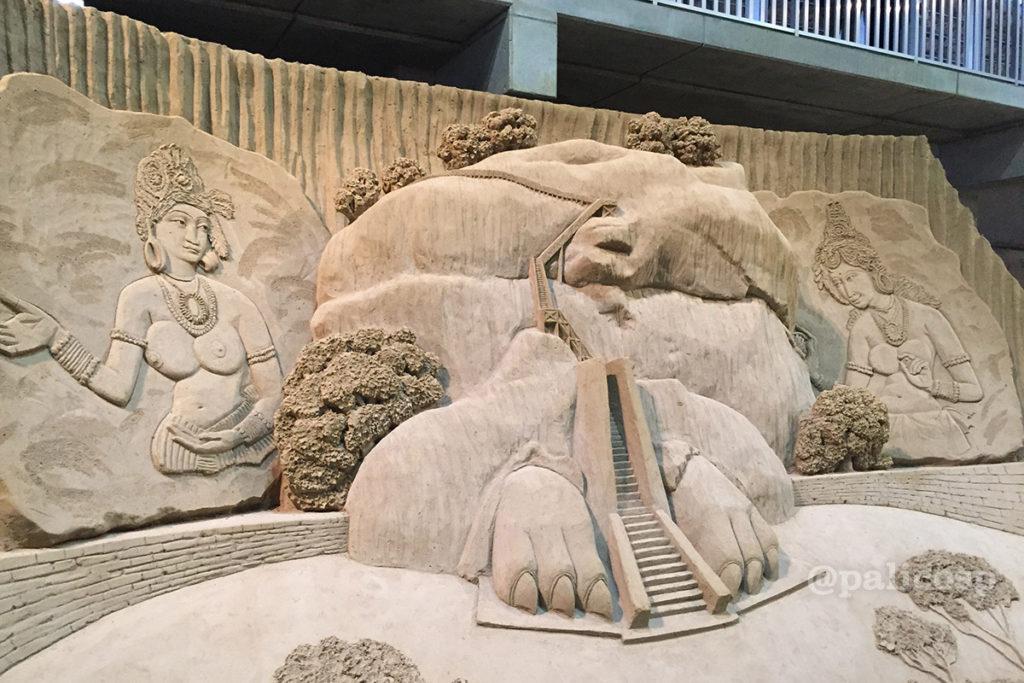 第12期南アジア編|砂像