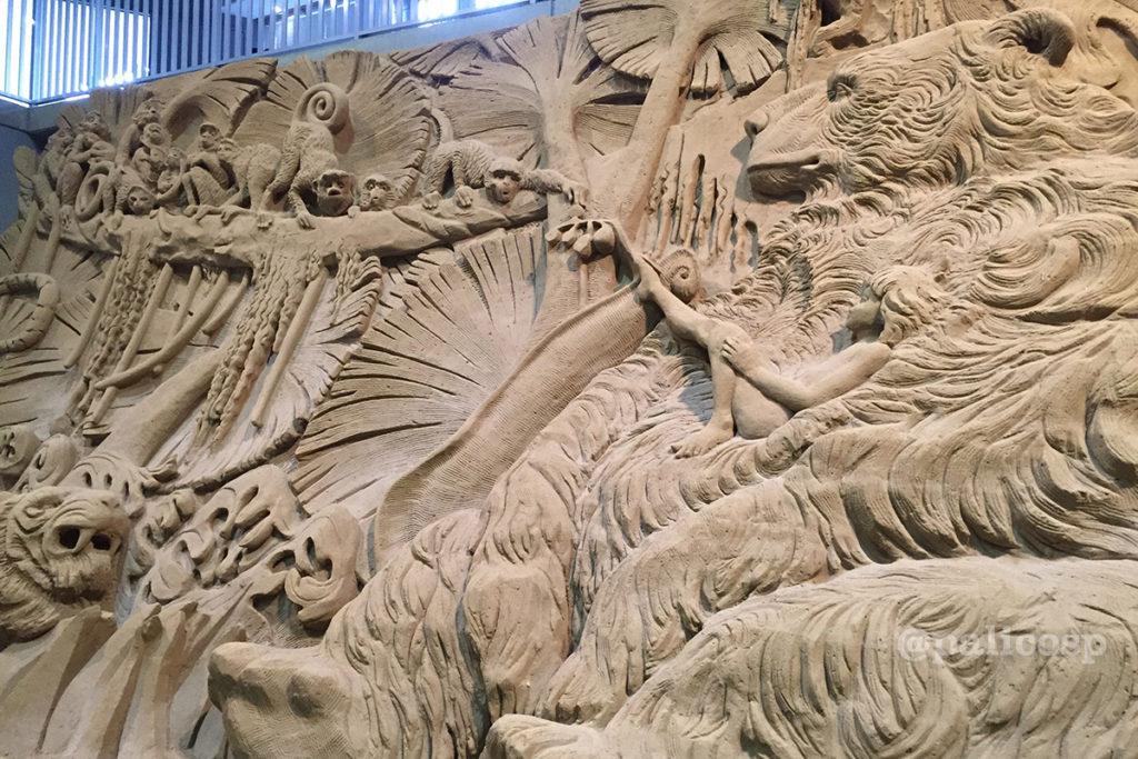 第12期南アジア編|ジャンブルブック砂像