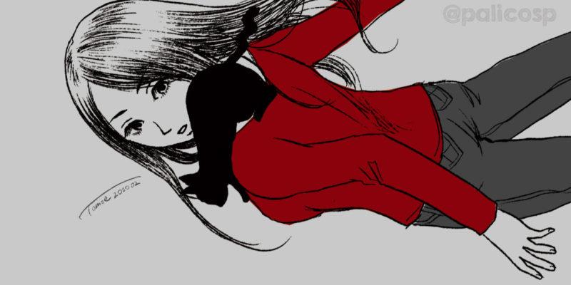 彼女と黒猫