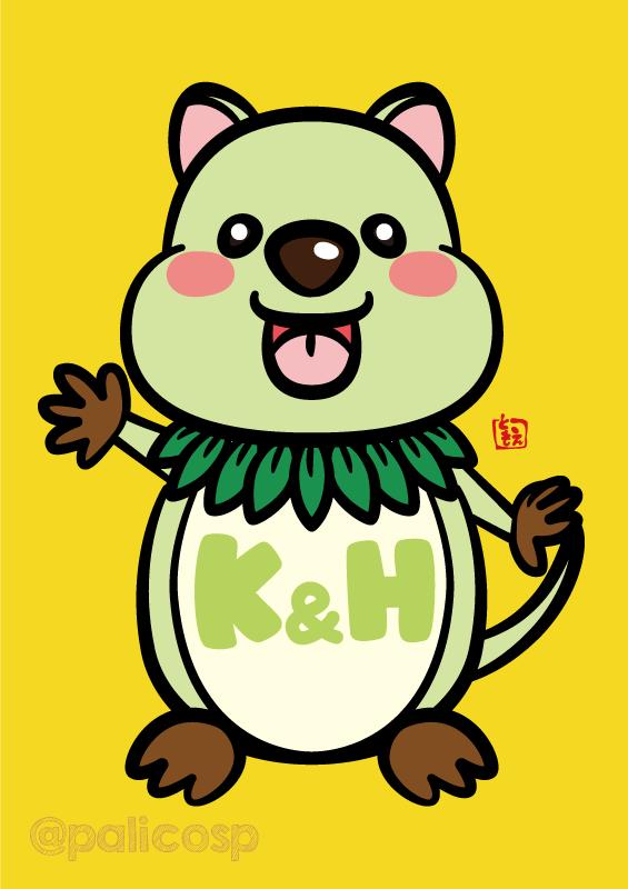 K&Hキャラクターデザインコンテスト公募作品2