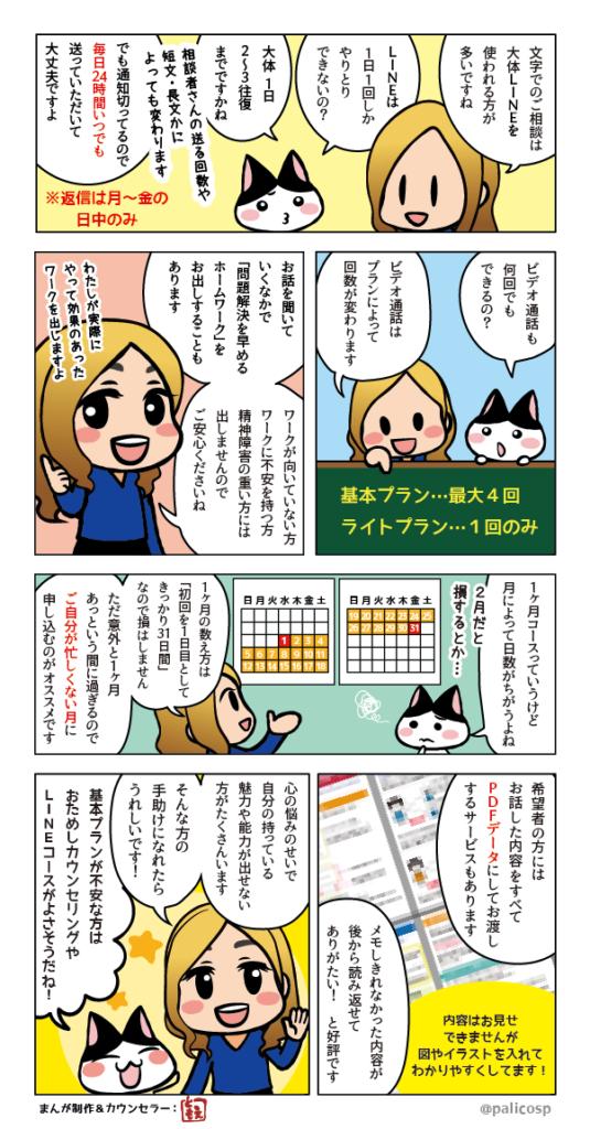 カウンセリング内容・説明漫画2